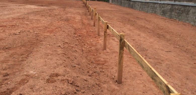 Estacas escavadas com lama bentonítica