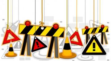 Sinalização de segurança importância para as obras