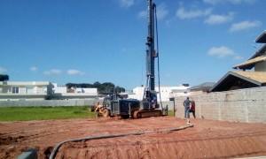 hélice contínua monitorada para obras de grande porte