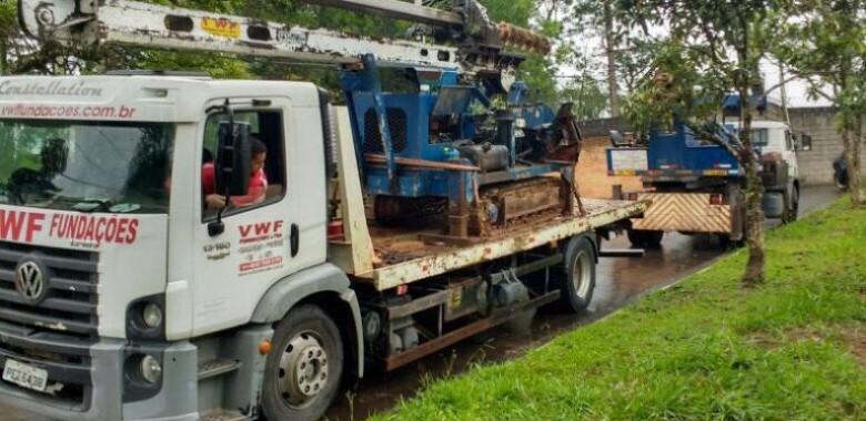 Estaca Escavada Fundação para Obras