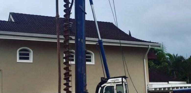 Estaca hélice contínua monitorada