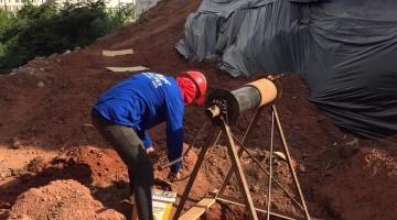 Escavação manual