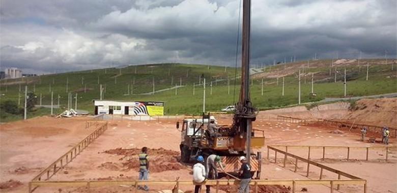 Estaca escavada Jundiaí