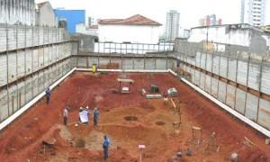 Fundação superficial para obras em Cajamar