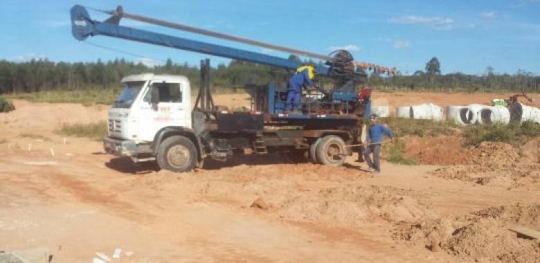 Estacas Escavadas com trado mecânico em Cajamar