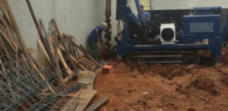 Estaca escavada em São Paulo