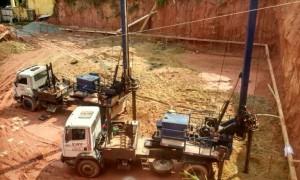 Estaca Escavada Mecanicamente em São Paulo
