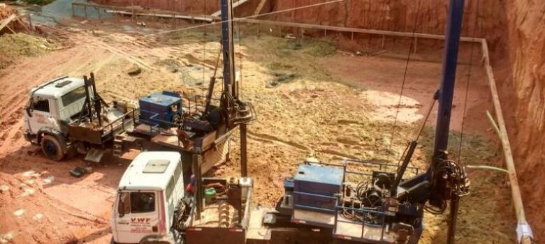Estaca Escavada Mecanicamente em São Paulo Obras de diversos os portes
