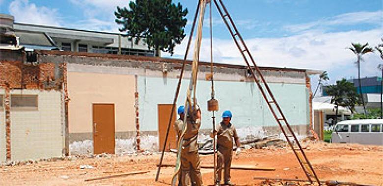 Fundação Superficial para Casas