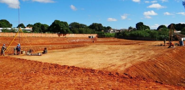 Fundação Superficial para Construção Civil